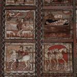 Zillis: román kori képregény a templomban