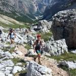 Terepfutás a Dolomitok epicentrumában