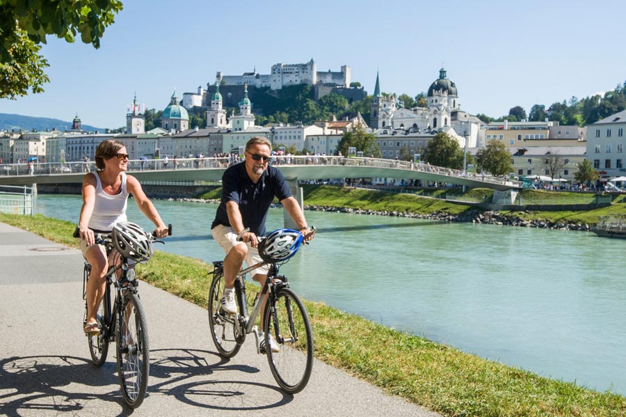 Fahrrad-Salzach (c) Tourismus Salzburg