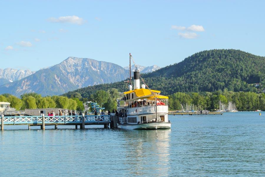 Schiff Ostbucht Karawanken (c) Tourismusregion Klagenfurt - Pixelpoint Multimedia