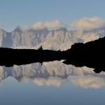 Spiegelsee: ahol tótágast állnak a Dachstein csúcsai