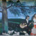 Bódvalenke: színes falfreskókkal a boldogulás útján
