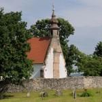 Nógrádsáp meghitt középkori temploma