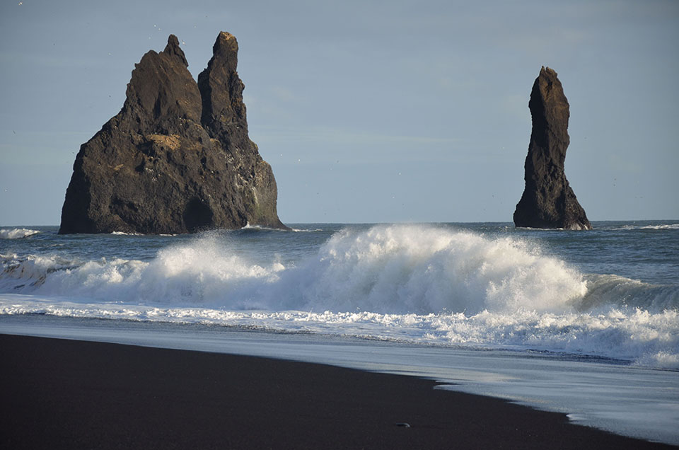 11. Black beach